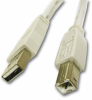 USB 2.0 A To B Cable 3M -- HAVUSBAB3M - Image