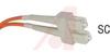 Patch Cord, Fiber Optic, Duplex Multi Mode, SC-SC 5M -- 70121430