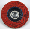 3M Cubitron 947D Type 27 Coated Ceramic Flap Disc - 120 Grit - 4 1/2 in Diameter - 61194 -- 051111-61194 - Image