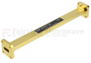 WR-42 Waveguide Section 6 Inch Length Straight Using UG-595/U Flange With a 18 GHz to 26.5 GHz Frequency Range in Instrumentation Grade -- SMF-42S001-06 -Image