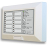 F-Series Remote Annunciator, 10 Zone Panel -- FSRA10(C) - Image