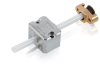 Linear Actuator with PIShift Piezomotor -- N-422