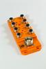 M12 8 port plastic passive distribution box with LED -- 908-5M -Image