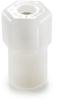 White Nylon Female Connector -- 60587