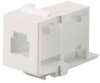 Fiber Connectors and Adapters : Adapters : NetKey Adapter Modules (Keystone Compatible) -- NKMJMWH