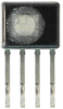 Honeywell HumidIcon™ Digital Humidity/Temperature Sensor: HIH8000 Series, I2C, ±2.0 %RH accuracy, SIP 4 Pin, with filter, five units on tape (sample) -- HIH8121-021-001S