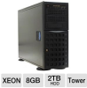 Visionman TSX-3ISC00 Hotswap Intel Tower Server - (2) Quad C -- ATSX-350V10