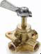 Ground Plug Shut Off Valves -- Three-way valve V406P
