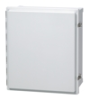 Enclosure, Hinged, Opaque, Screw Cover With SS Lockable Latch -- ARCA-JIC AR16148CHSSL