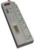 7 Outlet, 4-ft Cord, 1400 Joules, Timer-controlled ECO-SURGE Home/Office Surge Suppressor -- TLP74TG