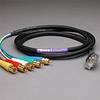 PROFlex VGA 5Ch 1.5C 15P Male-RCAP 10' -- 30VGA515C-15MR-010
