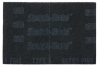 3M Scotch-Brite 7448 PRO Non-Woven Silicon Carbide Hand Pad - Ultra Fine Grade - 6 in Width x 9 in Length - 64935 -- 048011-64935 - Image