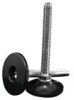 Stud Mount Leveling Feet - Plastic Rigid Base -- AFW1020A -- View Larger Image