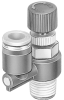 Differential pressure regulator -- LRL-3/8-NPT-QS-5/16-U -- View Larger Image