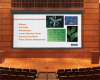 Video Format Tab Tensioned Electric Wall or Ceiling Projection Screen. -- Video Format