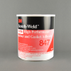 3M 847 Nitrile High Performance Rubber and Gasket Adhesive Brown 1 gal Pail -- 847 1 GALLON CONTAINER