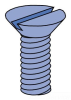 Machine Screw - Non Metric -- HFMS025062EG - Image