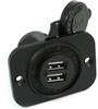 Blue Sea Systems 1016 Dual USB Socket -- 78035