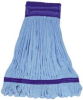 MICROFIBER TUBE WET MOP XLARGE BLUE -- IMPLF0021