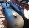 Rainwater Harvesting Underground Double-wall Tank -- 4' Diameter