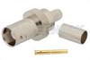 BNC Female Connector Crimp/Solder Attachment for RG59, RG62, RG71 -- PE4308 -Image