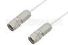 1.85mm Male to 1.85mm Male Cable 6 Inch Length Using PE-SR047FL Coax, RoHS -- PE36521LF-6 -Image