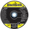 Type 27 Depressed Center Grinding Wheels.  Best - Black Gold -- A8444 - Image