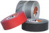 Profesional grade cloth duct tape, Polycoated, Aggressive wet-stick gray adhesive; Tested in accordance with UL 723 -- PC 609