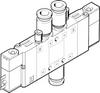 Air solenoid valve -- CPE14-M1BH-5JS-QS-6 -- View Larger Image