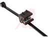 Cable Tie and Edge Clip, 50lb, 7.9, EC20 Panel Thickness .12-.24in, PA66UV -- 70163302
