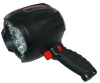 LED Rechargeable Spotlight w/ Red LED Night Vision - 5 Hour Runtime - 600 Lumen - 3 CREE LEDs -- HHL-LEDX3