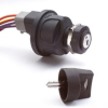 Plastic Body Rotary Switch with Quick Connect Harness -- 95060