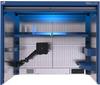 TekZone Hutch with Power Feed Panel -- TZ-JHG40U3102S -Image