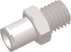 Female Thread to Luer Straight Connector -- AP16FLT1032N