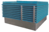 Louvered Penthouse Supply Fan -- LPSF