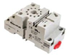 General Purpose Relay Socket, 11-Pin Octal DIN Rail or Panel Mount -- 78012492077-1