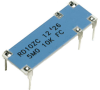 Robust High Voltage Divider Resistors -- RHVD10