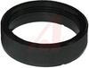 Black Plastic (Nylon 6/6) Mounting Nut -- 70186566 - Image