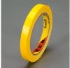 3M Scotch 690 Yellow Color Coding Bag/Packaging Tape - 12 mm Width x 66 m Length - 2.3 mil Thick - 61660 -- 021200-61660