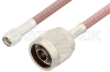 SMA Male to N Male Cable 48 Inch Length Using RG142 Coax, RoHS -- PE3568LF-48 -Image