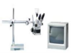 LUXO 18718RB ( TRINOCULAR STEREO-ZOOM MICROSCOPE; FEATURES:ALTER ANGLES UP TO 45DEG; 360DEG HEAD ROTATION IN FOCUS MOUNT; FINE ADJUSTMENTS ) -Image