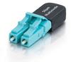 Duplex LC 50/125 Multimode Fiber Loopback -- VLB-5-01 - Image