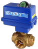 3-Way Brass Ball Valve -- IP-3W Series - Image