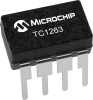 500mA Fixed Output CMOS LDO with Shutdown -- TC1263 -- View Larger Image