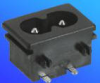 Power Inlets IEC 320-C8 -- AEL-JR-201SE