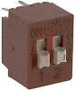 Switch, DIP, 2 PositionS, VERTICAL MOUNT -- 70128459 - Image