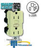 Leviton 20AMP 125V at Receptacle and Feed-Through -- 8899