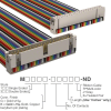 Rectangular Cable Assemblies -- M3BRK-4006R-ND -Image