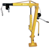 WINCH OPERATED TRUCK JIB CRANE -- HWTJ-2