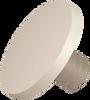 1/4 Large Unslotted Screw, Nylon, Natural -- APSLU250